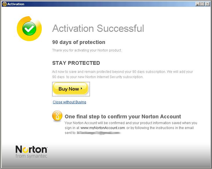 Нортон Internet Security 2013 бесплатно в течение 6 месяцев.