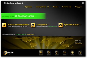 Обзор Norton Internet Security 2012